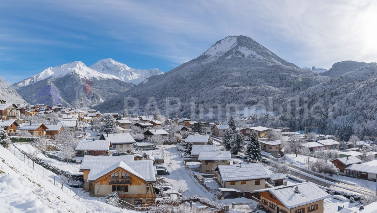Champagny en Vanoise in the snow-3-Pano